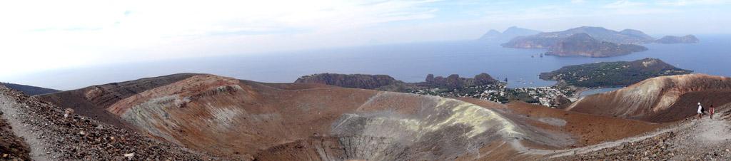 îles éoliennes: l'île de Vulcano
