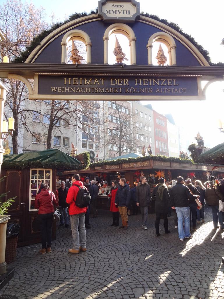 marché de Noël de Cologne : Heimat der Henzel
