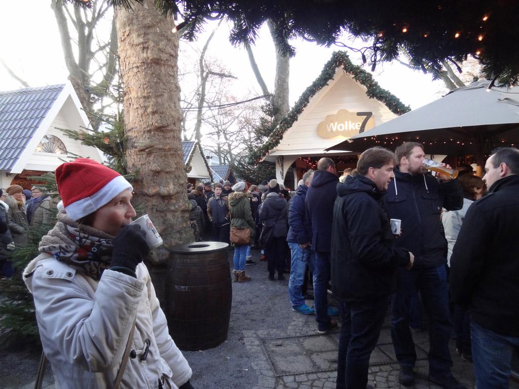 marché de Noël de Cologne : markt der engel