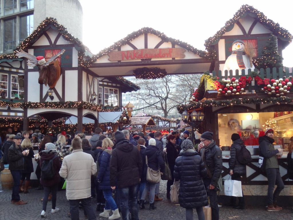 marché de Noël de Cologne : Nikolausdorf