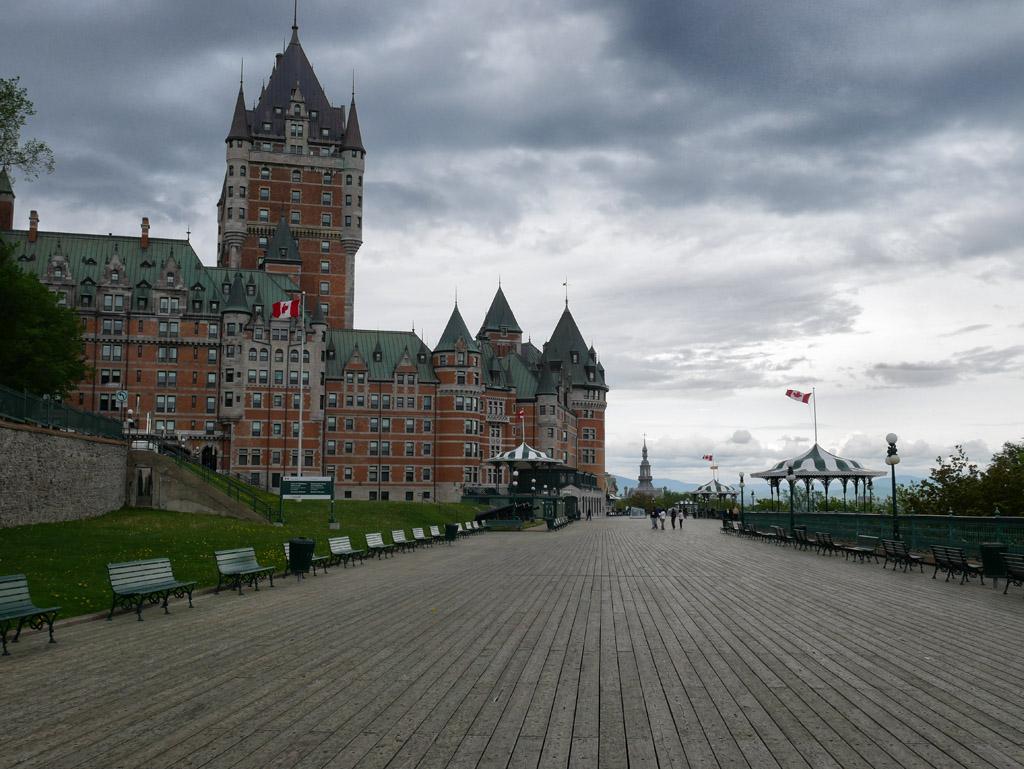 Visiter Québec en 3 jours: le château Frontenac