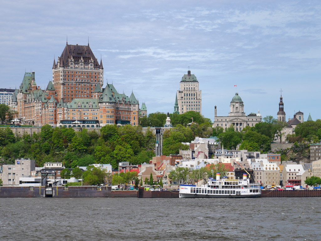 Visiter Québec en 3 jours: le traversier