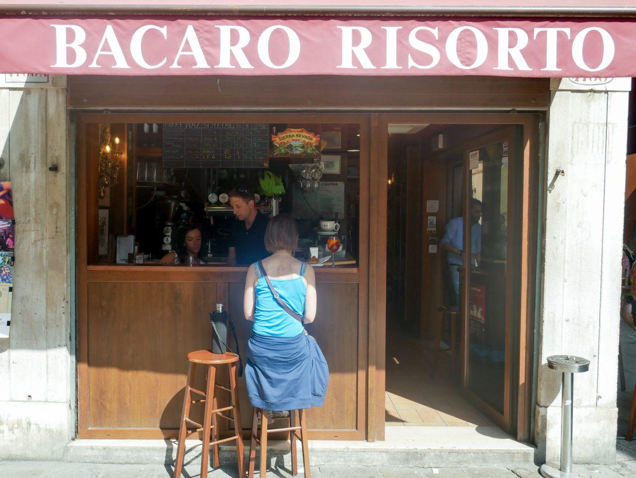 meilleurs cicchetti de Venise: Bacaro Risorto