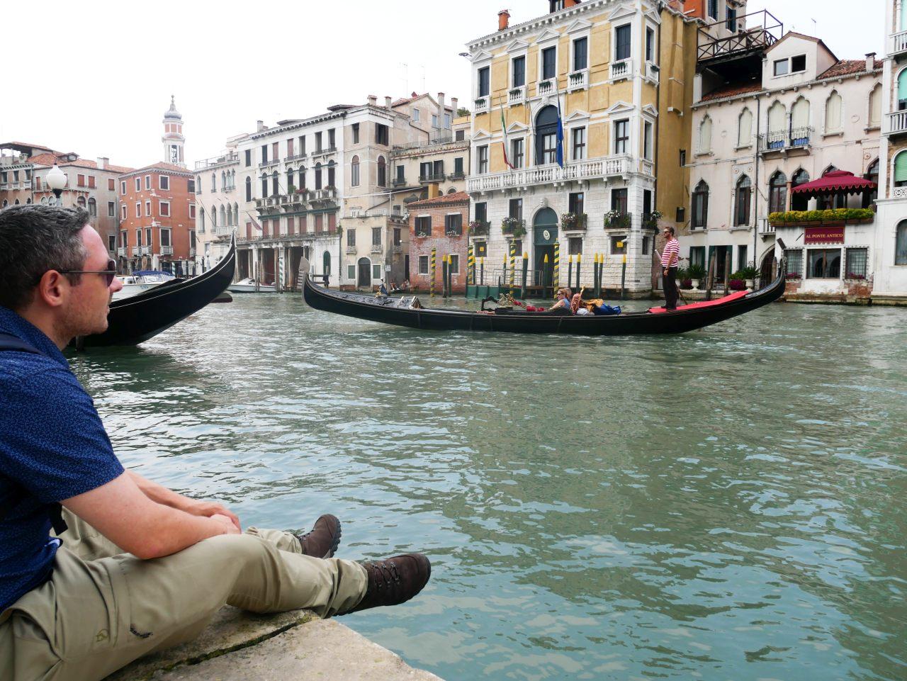 visiter venise en 2 jours: les gondoles
