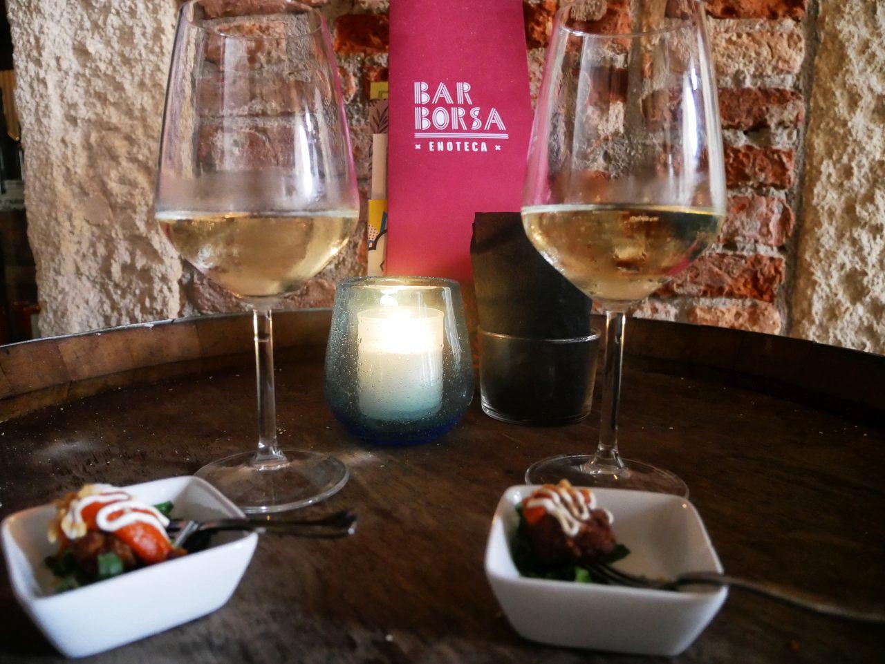 une journée à Vicence: bar borsa