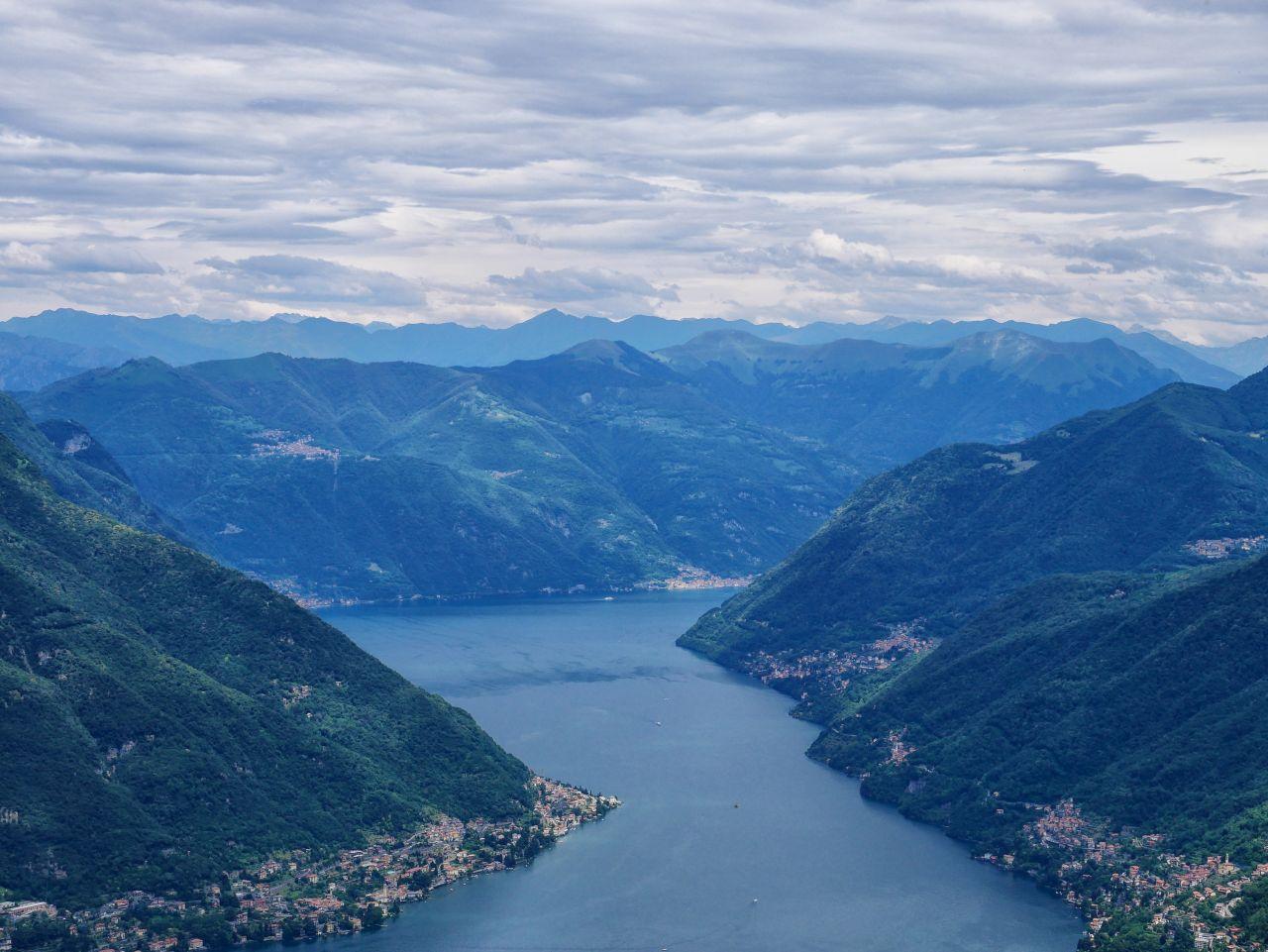 2 jours au lac de Côme: randonnée jusqu'à Bolettone