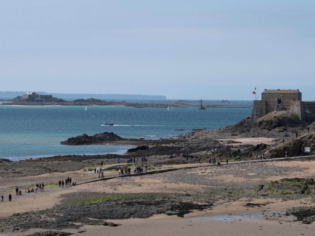 vue du Fort National depuis les remparts