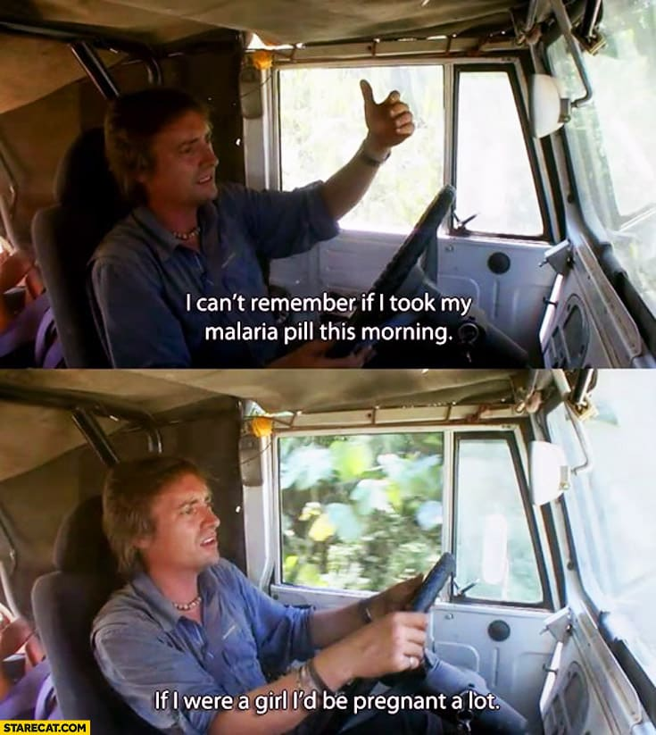 richard-hammond-cant-remember-if-i-took-my-malaria-pill-if-i-were-a-girl-id-be-pregnant-a-lot