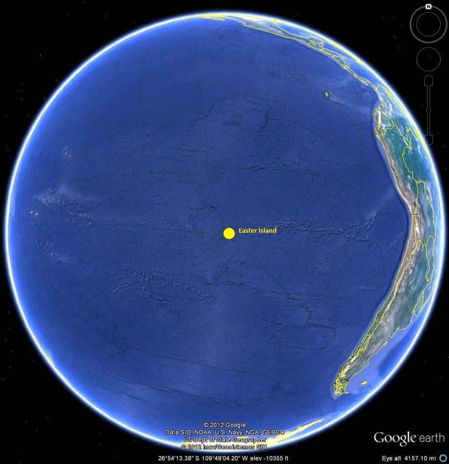 Google map globe
