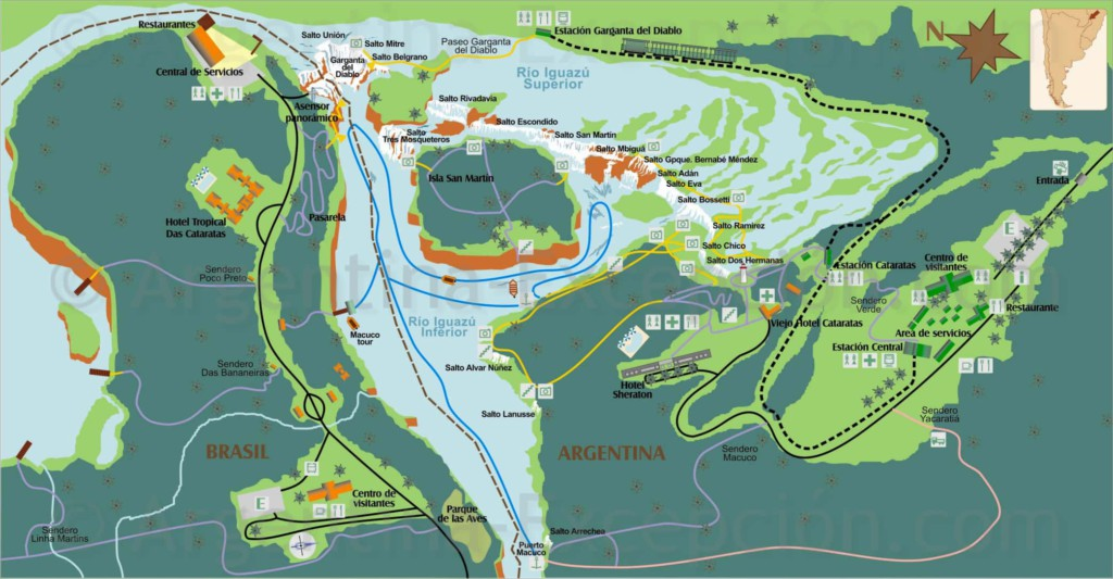 Iguazu-National-Park-Map