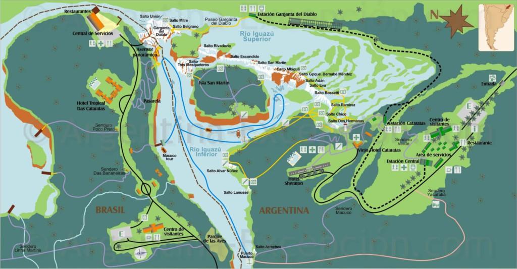 Iguazu-National-Park-Map