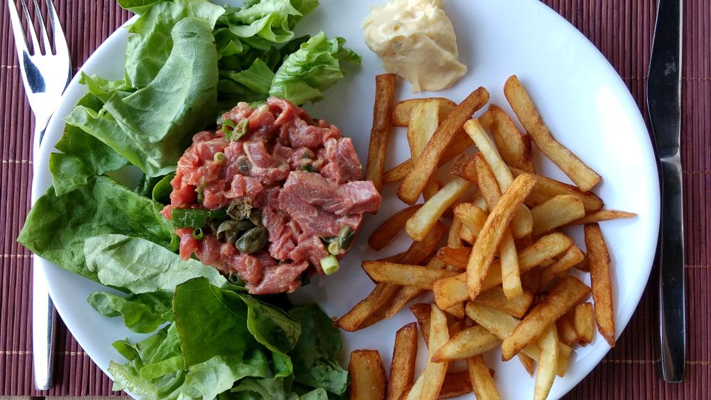 spécialités belges: l'américain