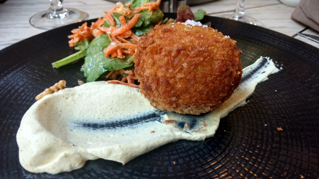 spécialités belges: croquettes de crevettes