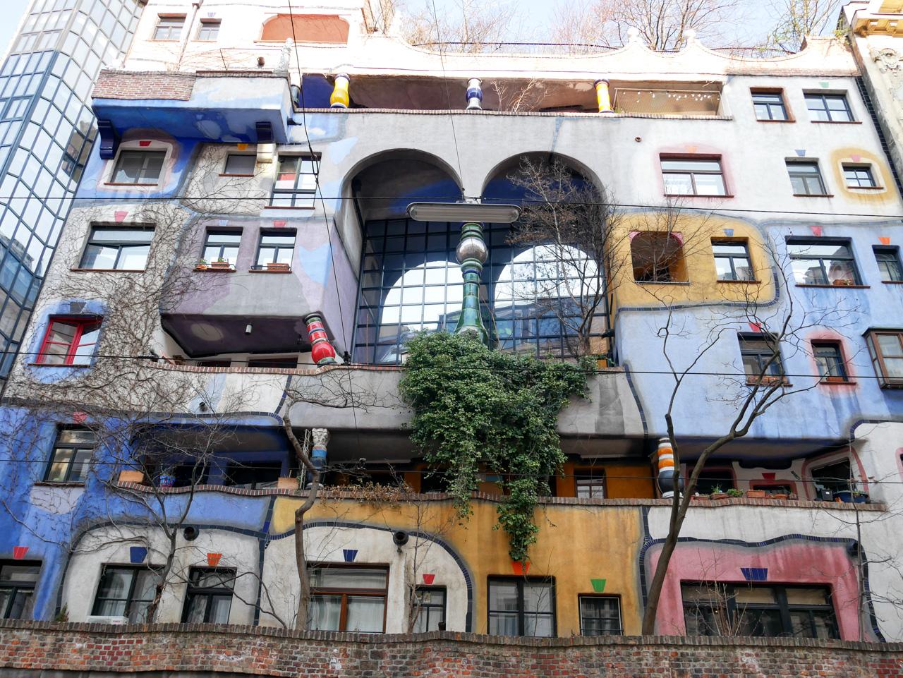 Que faire à Vienne: admirer l'architecture de la Hundertwasserhaus