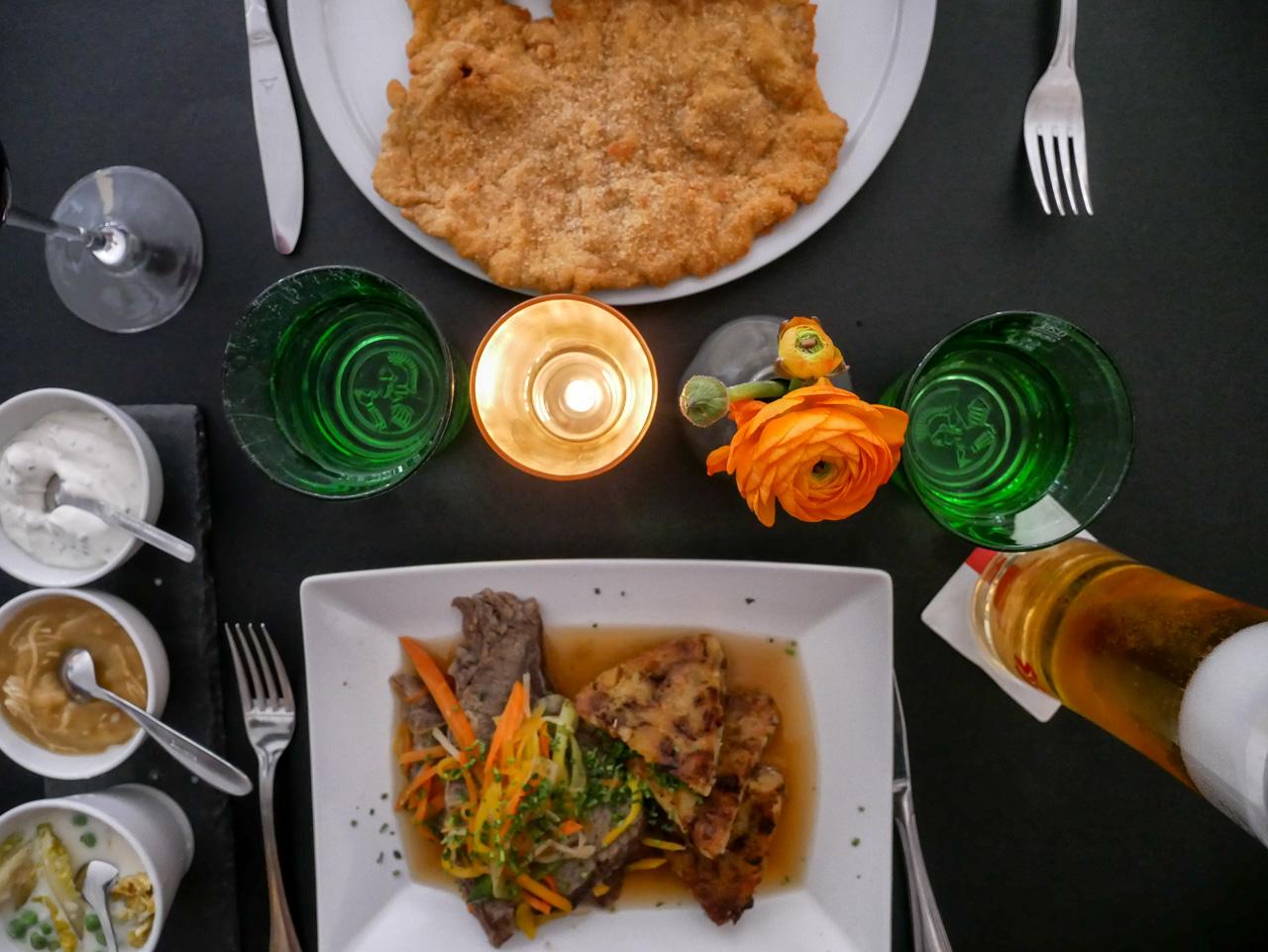 Que faire à Vienne: goûter au fameux wiener schnitzel