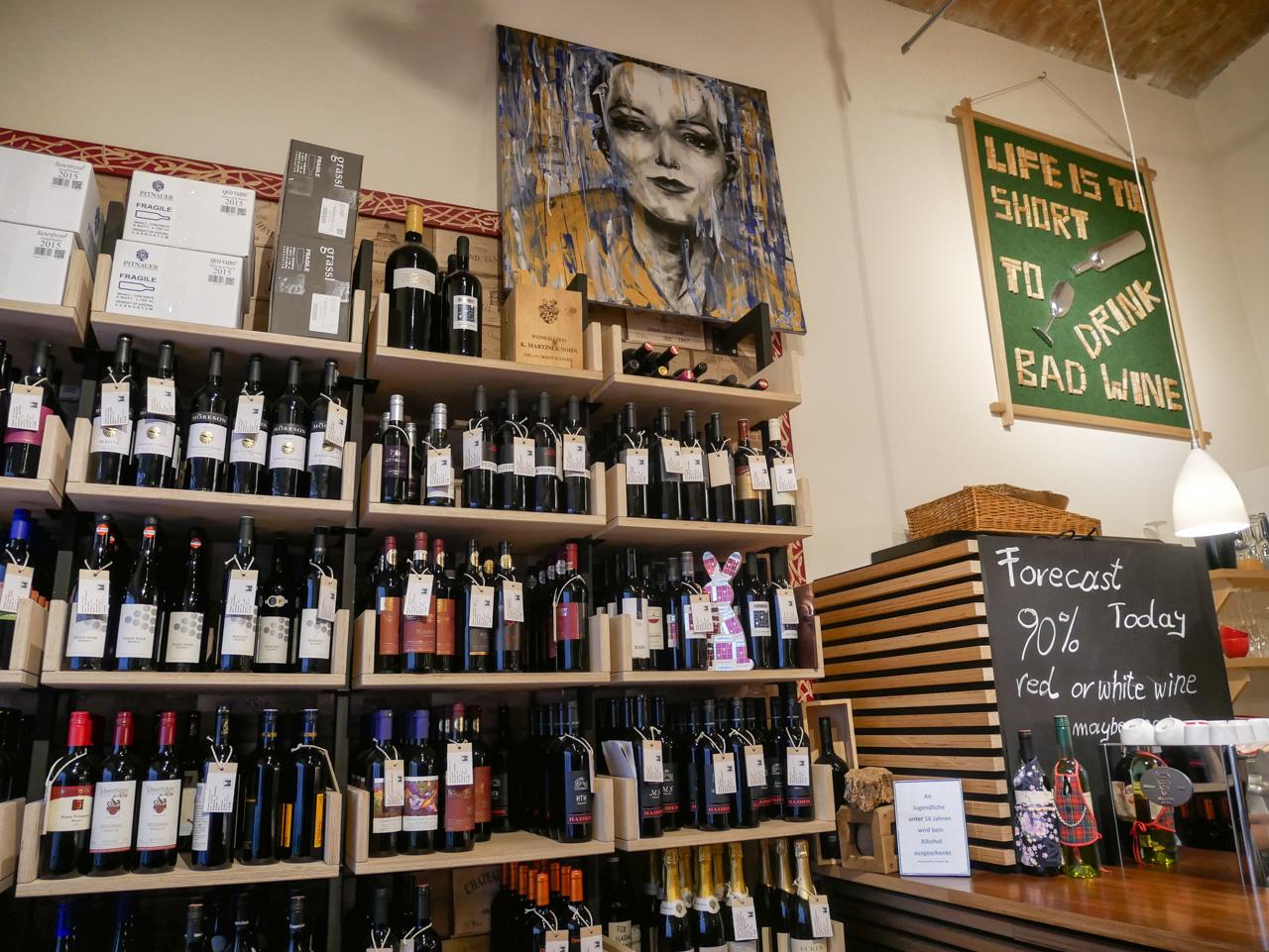 Que faire à Vienne: s'initier aux vins autrichiens dans un weinbar