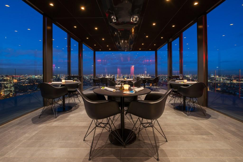 meilleurs restaurants en Belgique: Villa in the Sky