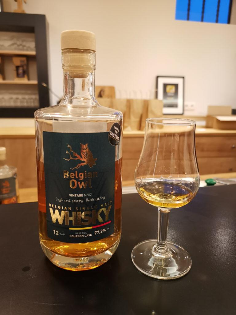 Belgian Owl Vintage - le whisky belge